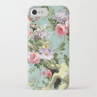 flora iPhone & iPod Cases featuring Flora by mentalembellisher