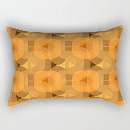 70s Era interior design Rectangular Pillow