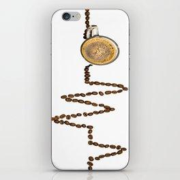 Coffee Heartbeat iPhone Skin