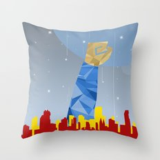Polygon Heroes Rise 1 Throw Pillow
