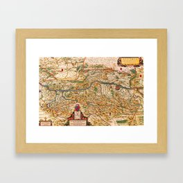 Austria 1662 Framed Art Print
