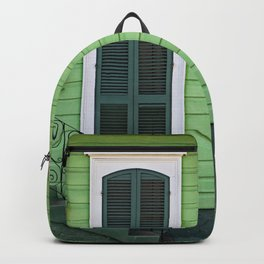 Green Creole Cottage Backpack