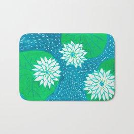 Water Lillies Bath Mat