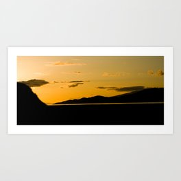Sunset from Spanich Bank Art Print