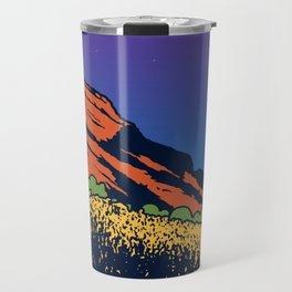 Red Rocks Travel Mug