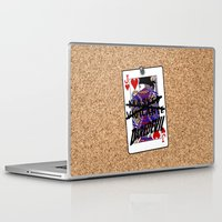 lawyer Laptop & iPad Skins featuring Vigilante Named by Rachcox