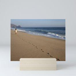 Baja California beach Mini Art Print