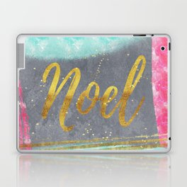 NOEL-Merry modern abstract christmas Laptop & iPad Skin