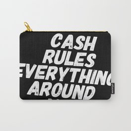 Cash Rules CREAM Carry-All Pouch