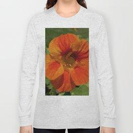 Glorious Nasturtium Long Sleeve T-shirt