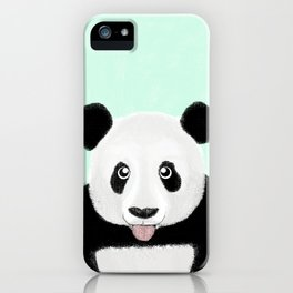 Cute Panda iPhone Case