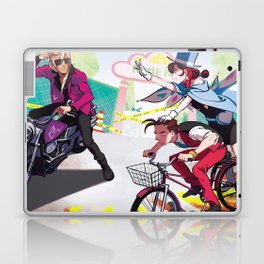 People Park Laptop & iPad Skin