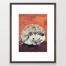 Hedgehog Framed Art Print