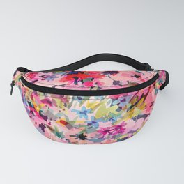 Little Peachy Poppies Fanny Pack