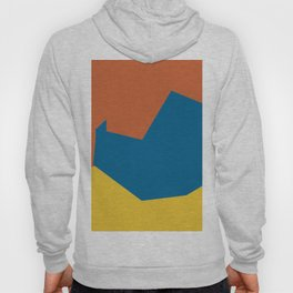 Minimalism Abstract Colors #14 Hoody