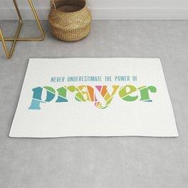 The Power of Prayer Rug
