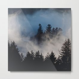 In Love With Black Forest Metal Print