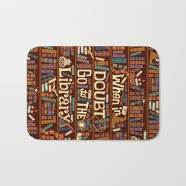 Go to the library Bath Mat