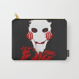 Jigsaw:Lets play the game Carry-All Pouch