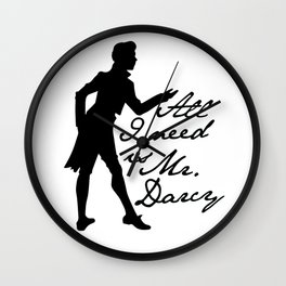 Mr. Darcy Wall Clock