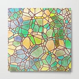 Mosaic Linda 2 Metal Print
