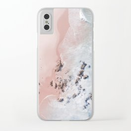 sea bliss Clear iPhone Case