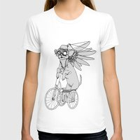 steam punk T-shirts featuring Steam Punk Chihuahua by Rebecca Pocai
