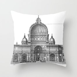 St. Peter Basilica - Rome, Italy Throw Pillow