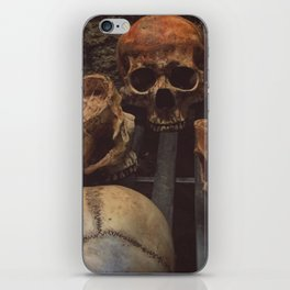 Catacomb Culture - Human Skull Basement iPhone Skin