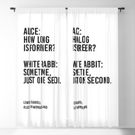 Alice: How long is forever? Blackout Curtain