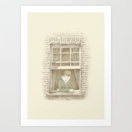 The Night Gardener - William Art Print