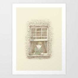 The Night Gardener - William Art Print