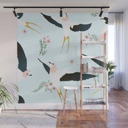 Birds #society6 #decor #buyart Wall Mural