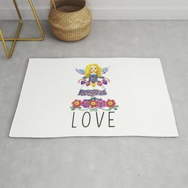 Angel Love Rug