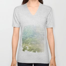 Where the sea sings to the trees - 9 Unisex V-Neck