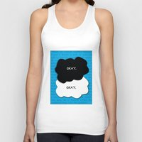 fault Tank Tops featuring the fault in our stars by lizbee