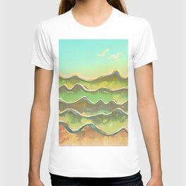 Magic Flight over the Sea of Clouds T-shirt