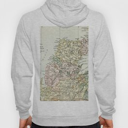 Scotland Vintage Map Hoody
