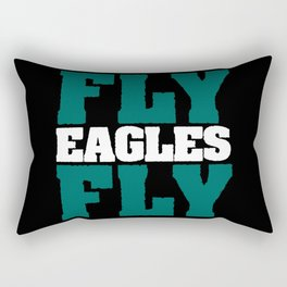 Fly Eagles Fly Rectangular Pillow