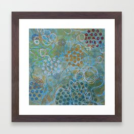 Psychedelic Sea Framed Art Print