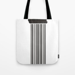 Barcode Rain Tote Bag