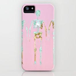 Spooky Skeletons iPhone Case