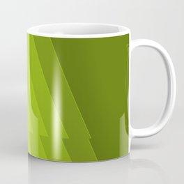 Gradient Green repetition Coffee Mug