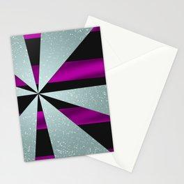 4Shades Glass: Purple Black Stationery Cards