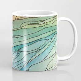 Eno River 23 (top portion) Coffee Mug