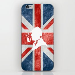 SHERLOCK HOLMES - BRITISH iPhone Skin