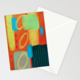 Hot Abstract Digital Painting Stationery Cards