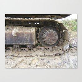 Digger Canvas Print
