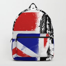 Union Jack Big Ben Backpack