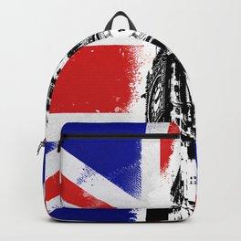 Union Jack Big Ben Backpack